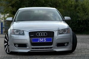 Frontlippe Racelook Ver3 JMS Racelook passend für Audi A3 8P