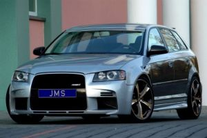 Frontstoßstange Racelook JMS passend für Audi A3 8P