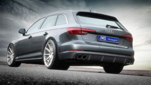 Heckdiffusor JMS Racelook S-Line passend für Audi A4 B9