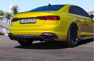 Capristo Heckdiffusor Echtcarbon Audi passend für RS5 B9