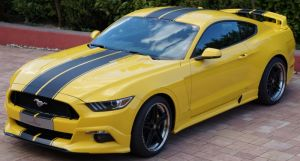 Racelook Abbes Design Spoilerschwert Ford  Mustang LAE - Tuning Teile Shop Autoteile