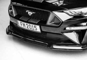 Frontschürzeneinsatz Set ABBES passend für Ford  Mustang LAE