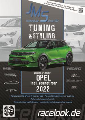 Tuning- und Zubehörkatalog passend für Opel 2019