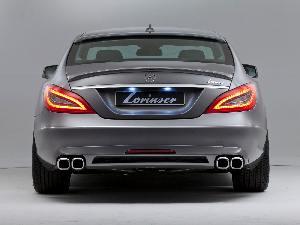 Lorinser Heckstoßfänger   passend für Mercedes CLS W218