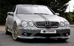 Prior-Design Frontstoßstange Mercedes CL Coupe W215 - Tuning Teile Shop Autoteile