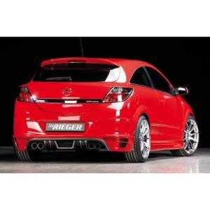 Passend Fur Opel Astra Gtc Twintop Heckansatz Fur 4 Rohr Auspuff Gtc Und Twintop Rieger Tuning