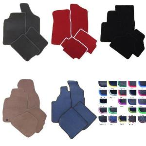 Velours schwarz Fußmatten passend für MERCEDES S-Klasse W140 S,SE Limo
