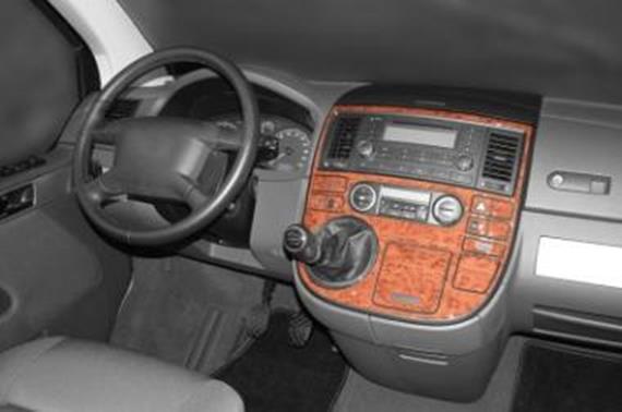 Innendekor Mittelkonsole Volkswagen T5 Multivan Jms
