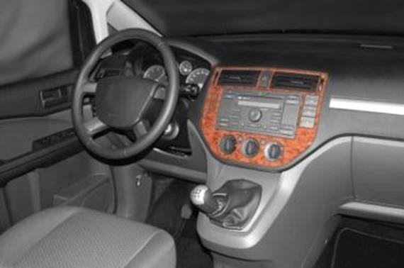 innendekor mittelkonsole ford focus c-max - jms fahrzeugteile tuning