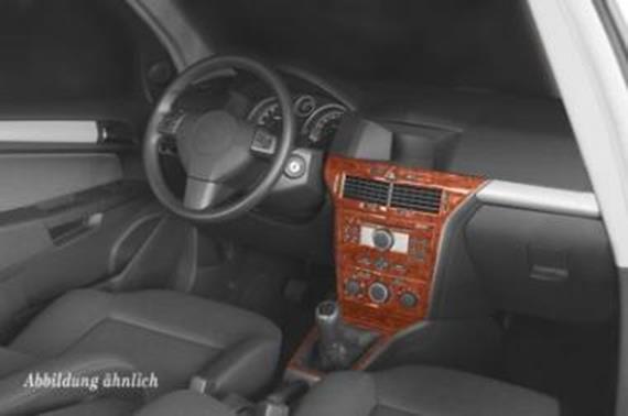 Innendekor Armaturenbrett/ Mittelkonsole Opel Astra H - JMS ...