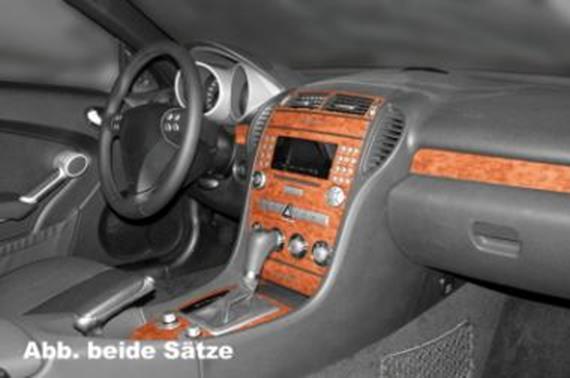 Armaturenbrett mercedes  Innendekor Armaturenbrett/ Mittelkonsole Mercedes SLK - JMS ...