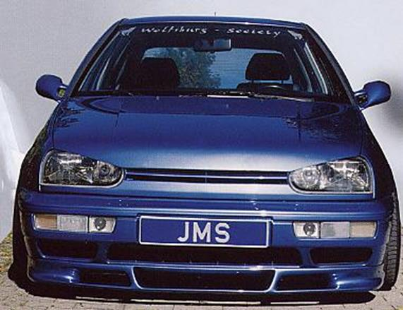 jms front lip spoiler racelook vw golf 3 vento ebay. Black Bedroom Furniture Sets. Home Design Ideas