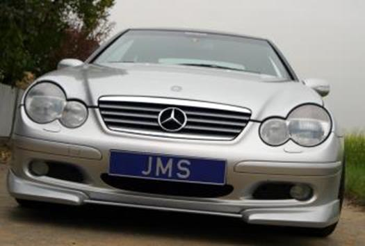 Mercedes Sports Coupe CL203 (01-05) JMS Front Lip Spoiler -