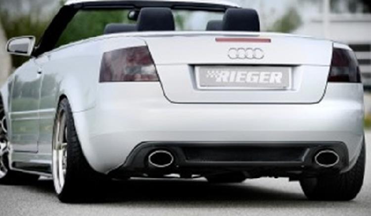 Rieger Heckeinsatz Audi a4 8h
