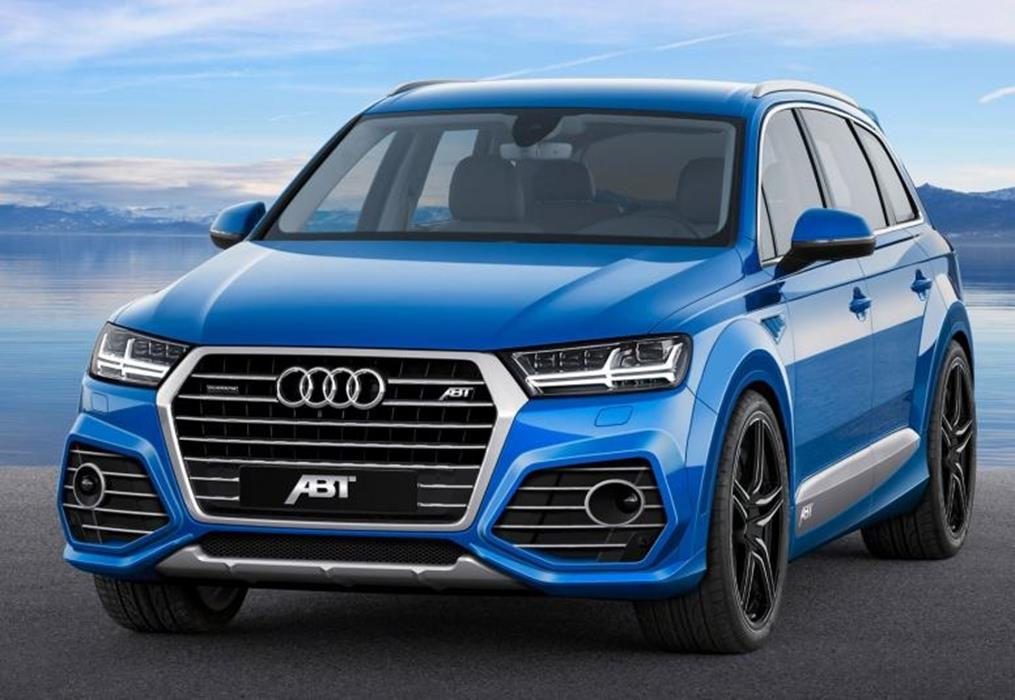 abt breitbau kit audi q7 4m jms fahrzeugteile tuning felgen bodykits. Black Bedroom Furniture Sets. Home Design Ideas