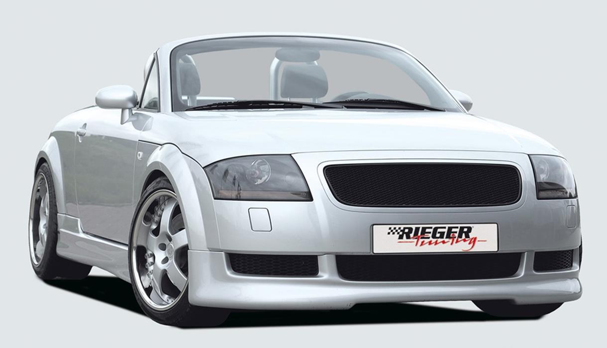 Rieger spoileransatz audi tt 8n jms fahrzeugteile tuning for Audi tt 8n interieur tuning