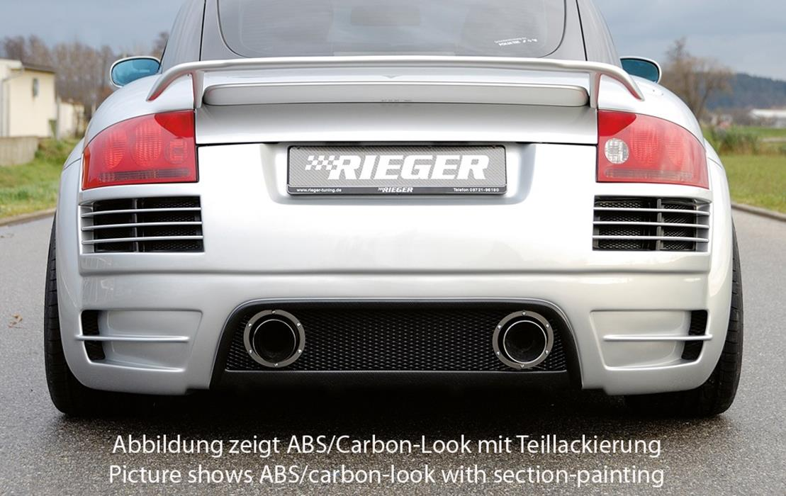 Rieger Hecksto 223 Stange Sch 252 Rze Audi Tt 8n Jms Fahrzeugteile Tuning Felgen Bodykits