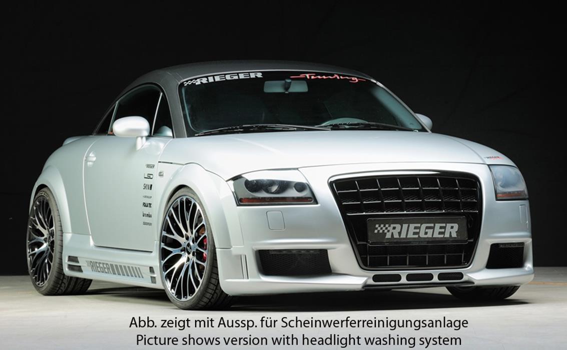 Rieger spoilersto stange r frame audi tt 8n jms for Audi tt 8n interieur tuning