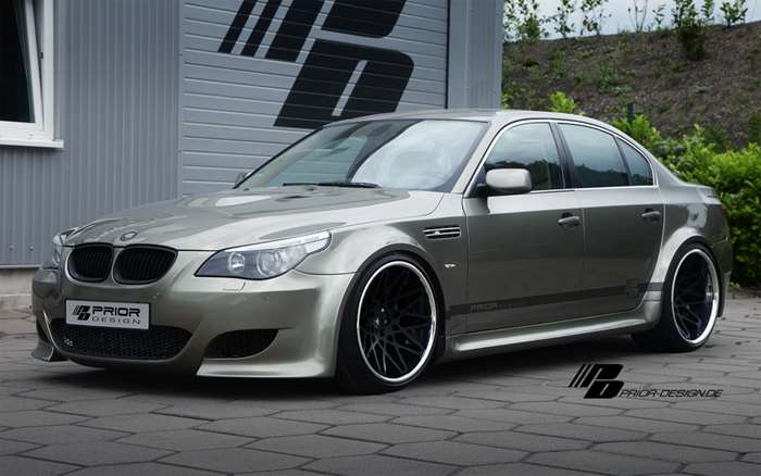 prior design widebody aerodynamik kit bmw e60 e61 jms. Black Bedroom Furniture Sets. Home Design Ideas