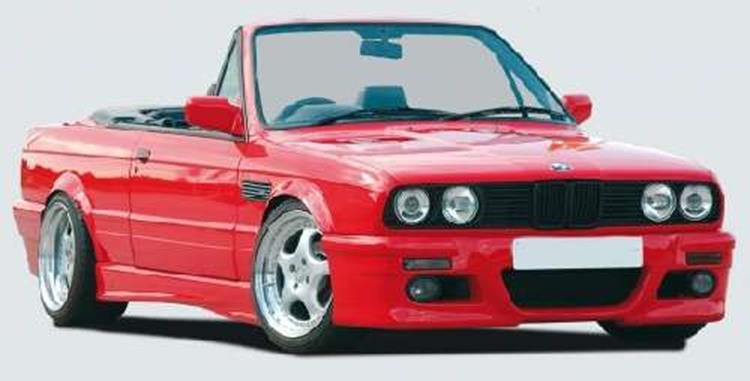 rieger frontsto stange e46 m3 look bmw e30 jms. Black Bedroom Furniture Sets. Home Design Ideas