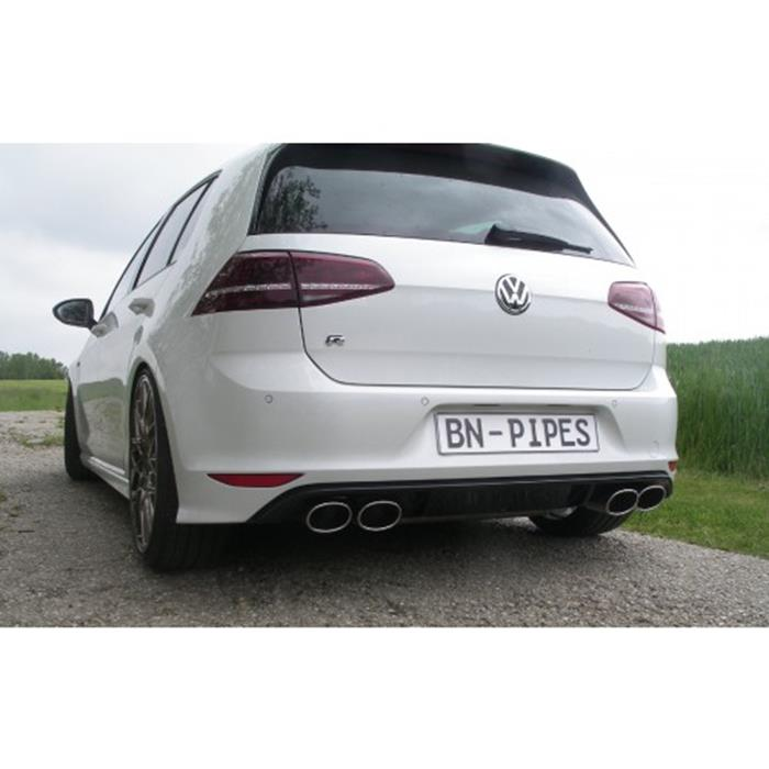 bn pipes vw golf 7 endschalld mpfer mit klappe jms. Black Bedroom Furniture Sets. Home Design Ideas