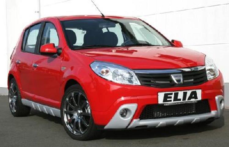 Elia Designkit Adventure Dacia Sandero Jms Fahrzeugteile