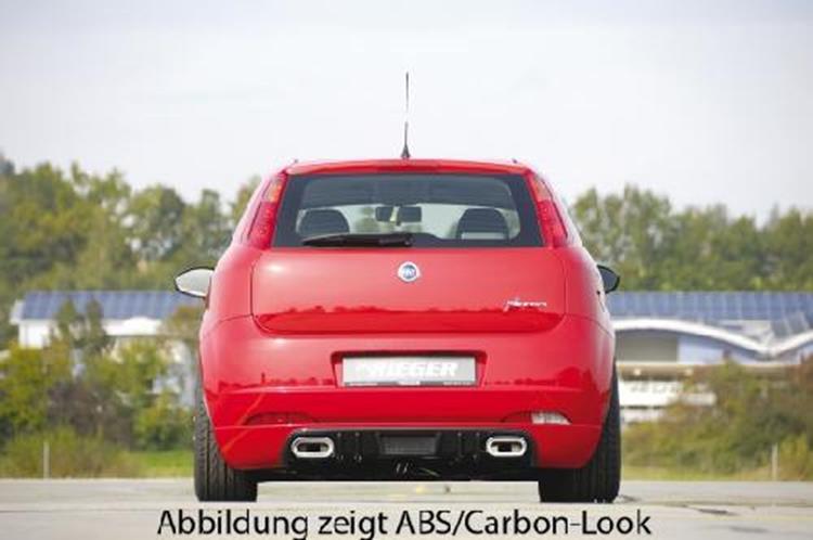 Heckansatz Rieger-tuning  Abs  Incl  Alugitter Fiat Grande Punto