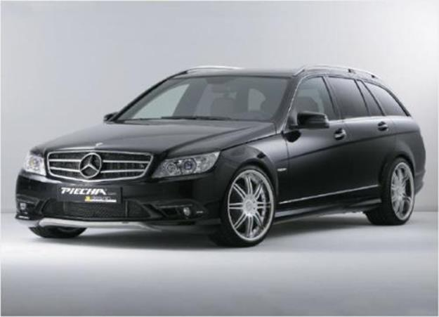 piecha scheinwerferblenden mercedes c klasse w204 jms. Black Bedroom Furniture Sets. Home Design Ideas