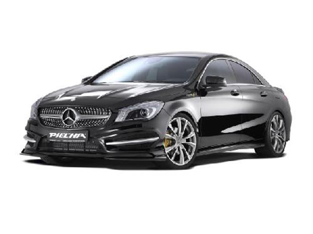 piecha cla front wings gt r 2 teilig f r amg front incl. Black Bedroom Furniture Sets. Home Design Ideas