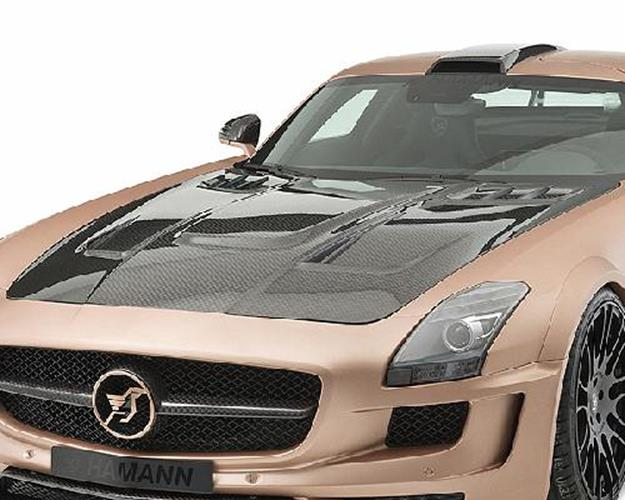 hamann motorhaube hawk mercedes sls roadster jms. Black Bedroom Furniture Sets. Home Design Ideas