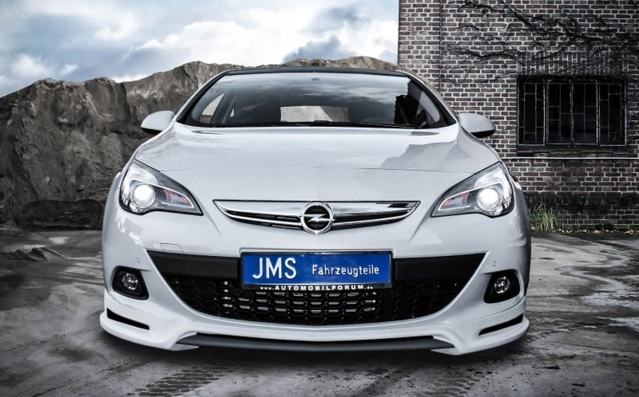 jms frontlippe racelook gtc opel astra j jms fahrzeugteile tuning felgen bodykits. Black Bedroom Furniture Sets. Home Design Ideas