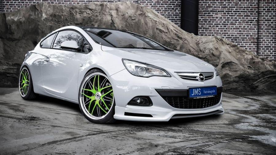 JMS Frontlippe Racelook GTC Opel Astra J - JMS ...