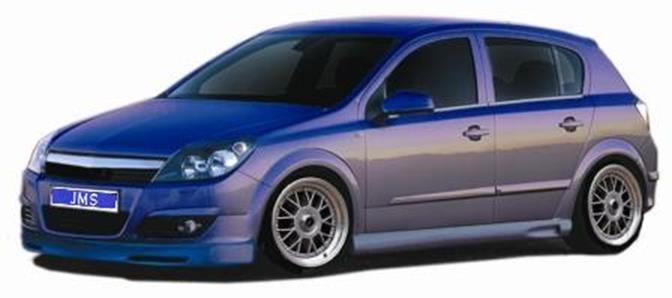 Opel Astra H & GTC JMS Seitenschweller Racelook Style 1 alle Modelle ...