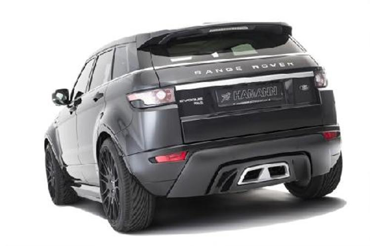 hamann hecksch rze land rover range rover evoque jms. Black Bedroom Furniture Sets. Home Design Ideas