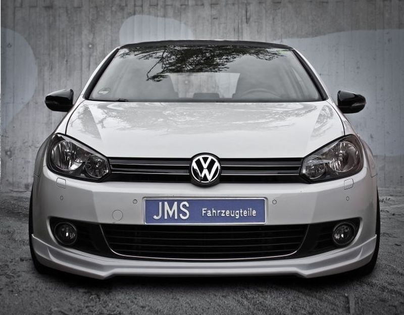 jms frontlippe racelook exclusiv line vw golf 6 jms. Black Bedroom Furniture Sets. Home Design Ideas