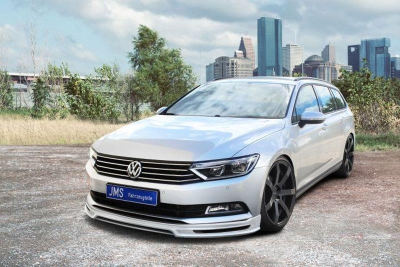 JMS Frontlippe für Modelle ohne R-Line mit integriertem Diffusor VW Passat 3C B8 - JMS ...