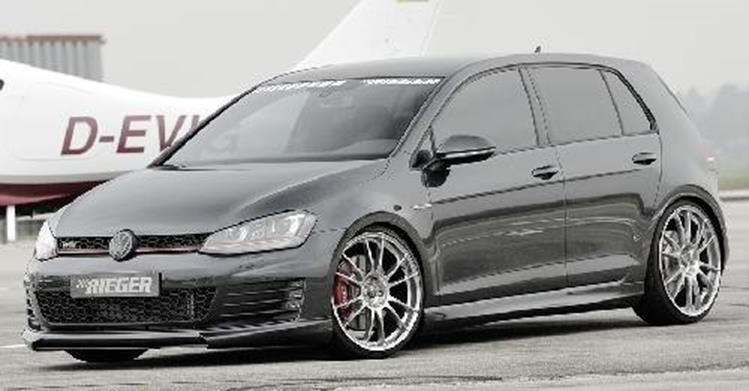 rieger spoilerlippe gti gtd vw golf 7 jms fahrzeugteile. Black Bedroom Furniture Sets. Home Design Ideas