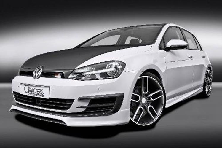 frontlippe caractere incl lufteinlassblenden vw golf 7 ebay. Black Bedroom Furniture Sets. Home Design Ideas