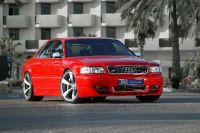 Jms Frontspoileransatz Racelook passend für Audi A8 D2
