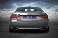 Heckeinsatz incl. Diffusorfinnen JMS Racelook passend für Audi A5/S5
