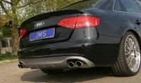 JMS Racelook Heckdiffusor mit S-Line passend für Audi A4 B8 ab 07