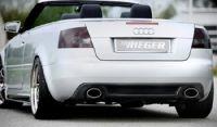 Rieger Heckeinsatz passend für Audi A4 8H Cabrio