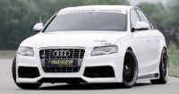 Rieger Spoilerstoßstange  inkl. S4 Limousine und Avant mit Xenon passend für Audi A4 B8 ab 07
