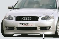 Frontlippe Rieger Tuning passend für Audi A3 8P