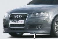 Frontlippe Audi Rieger Tuning passend für Audi A3 8P Sportback