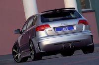 Heckansatz Racelook JMS passend für Audi A3 8P Sportback