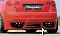 Heckansatz Rieger Tuning passend für Audi A3 8P Sportback
