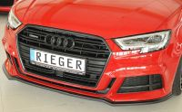Rieger Spoilerschwert/Lippe passend für Audi A3 8V