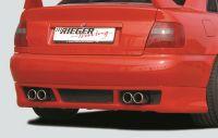 Rieger Heckansatz RS-Four-Look  passend für Audi A4 B5
