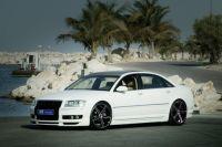 Frontlippe JMS Exclusiv Line passend für Audi A8 4E